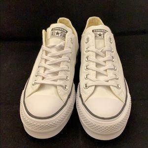 Converse Shoes - Converse Women's Lift Canvas Black White New Sz6.5